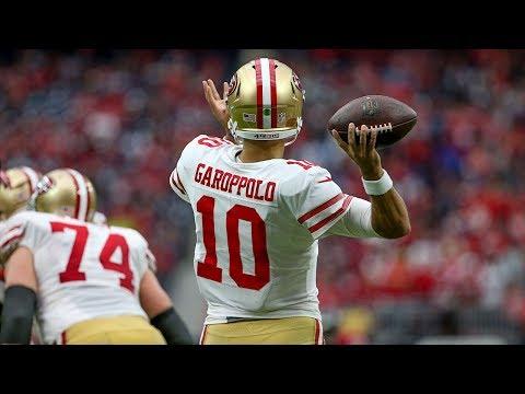 The Best of 49ers QB Jimmy Garoppolo... So Far