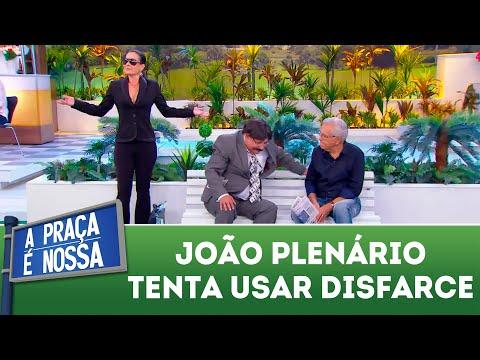 João Plenário tenta usar disfarce | A Praça É Nossa (18/10/18)