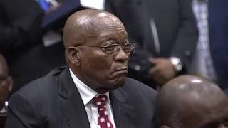 Former President Jacob Zuma appears in court on corruption charges