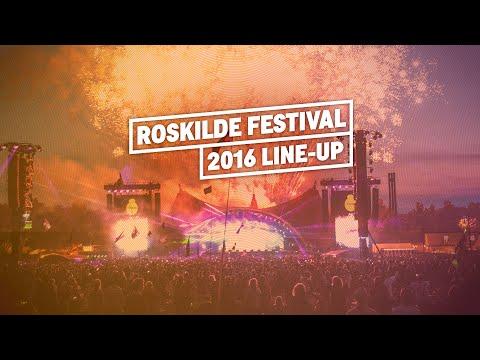 The Roskilde Festival 2016 line-up