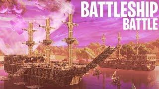 BATTLESHIP BATTLE MINI-GAME! - Fortnite: Battle Royale Playground (Nederlands)