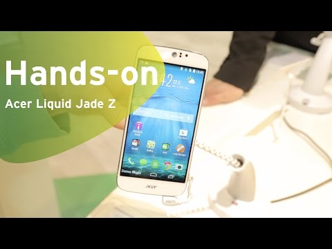 Acer Liquid Jade Z hands-on (Dutch)