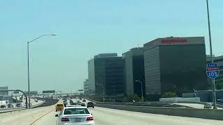 ロサンゼルス空港からヒルトンアナハイム