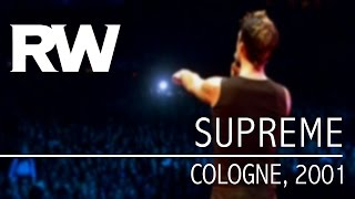 Robbie Williams | Supreme | Live In Cologne 2001