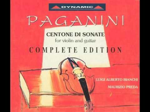 Paganini - Centone Di Sonata Complete Edition 1/3