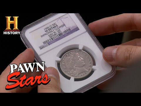 Pawn Stars: John W. Gill Half Dollar | History