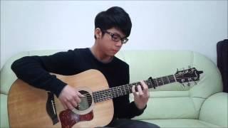 孫燕姿-遇見 Guitar Cover By 康