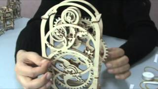 ugears model timer instruction instruccin de temporizador subtitles subttulos