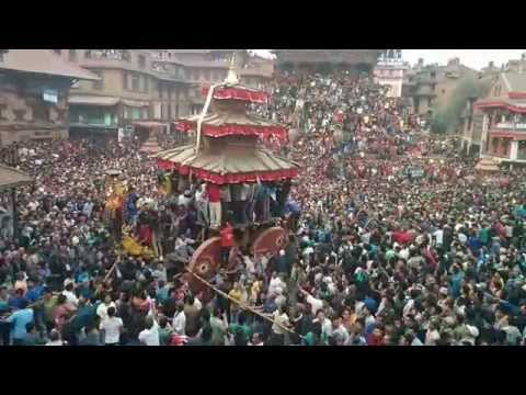 Bisket Jatra Bhaktapur 2014
