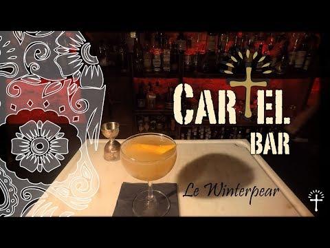 Cartel Bar Aix - Le Winterpear