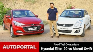 Comparison - Hyundai Elite i20 Vs Maruti Swift - Autoportal