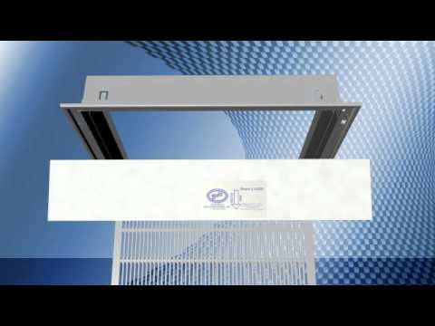 change a ceiling air filter -