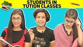 Students In Tution Classes | SAMREEN ALI