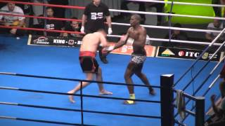 Dževad Poturak vs Abderahmane Coulibaly Knockout HD