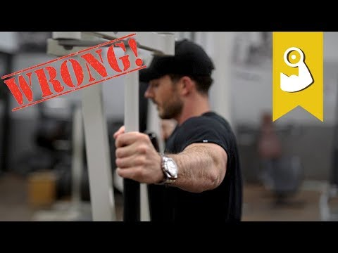 Der größte Fehler beim 'hintere Schulter' Workout