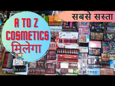 Cheapest Cosmetics in Sadar Bazaar....Jewellery..Sabse Saste Cosmetics Products..Vanshika Cosmetics