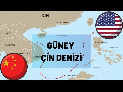 Güney Çin Denizi ABD-Çin Çekişmesi ( South China Sea and The USA and China Conflict )