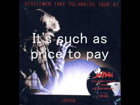 Japan - Methods Of Dance (Karaoke)