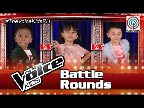 """The Voice Kids Philippines Battle Rounds 2016: """"Hataw Na"""" by Timoty, Iya & Memphis"""