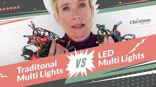 Multi Color Christmas Lights Smackdown