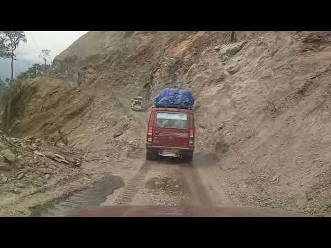 Dangerous Way to Anini, Dibang valley District, Arunachal Pradesh