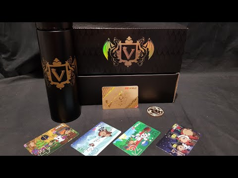 Unboxing: Level V 2020 EB World Membership Welcome Pack plus Christmas Replacement Cards! :)