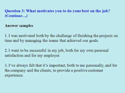 Human resources manager interview questions and answers - YouTube