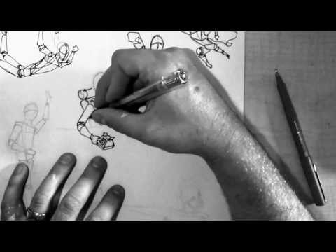 Action Figure Drawing