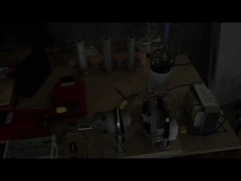 Morin Bio-Resonance Generator  Pancake Coil Illumination - by Ed Becnel