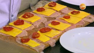 سلطة كرنب بالتفاح - قرص بالسبانخ والجبنة - لفائف الدجاج بالجبنة  | الشيف(حلقة كاملة)