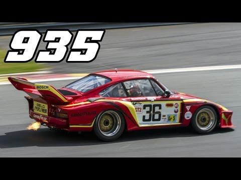 """Porsche 935 - """"little"""" Turbo monster (incl. idle, revs & flames)"""