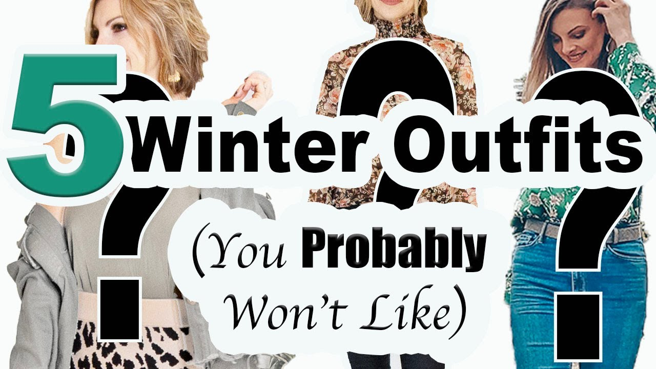 [VIDEO] - 5 Winter Outfits and How to Style Them II How to Put an Outfit Together II Interesting Outfits 1