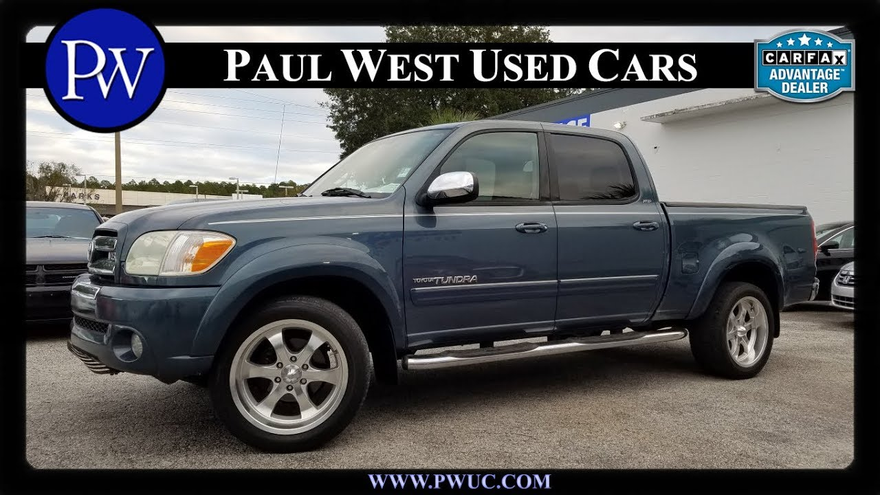 2005 Toyota Tundra Xsp Double Cab In Gainesville Fl For