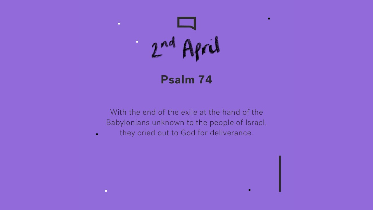 Daily devotions // Psalm 74 Cover Image