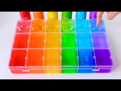 Satisfying Slime Coloring with Pigments, Food Dye + ASMR// Most Satisfying Slime Video Compilation!