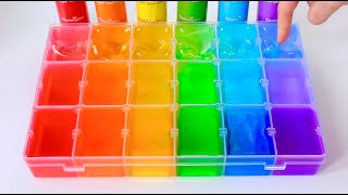 Satisfying Slime Coloring Most Satisfying Slime Video Compilation with Pigments, Food Dye + ASMR