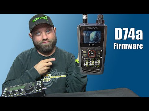 Episode 198: How To Update Firmware on the Kenwood TH-D74a - Ham