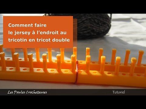 Vote no on instructions de bases pour tricotin long - Comment terminer un tricotin ...