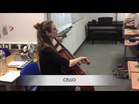 Tameside Music Service String Demo at Hyde Community College