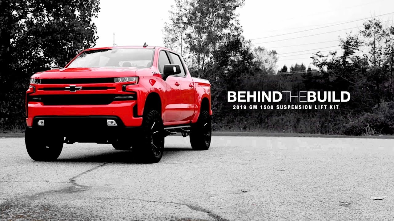 6 Inch Lift Kit For Chevy 1500 4wd >> 2019 Gm 1500 6 Inch Suspension Lift Kit Behindthebuild