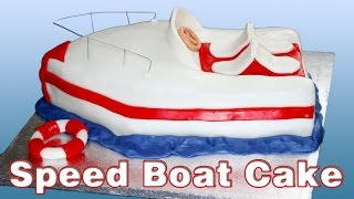 How to make a Speed Boat Cake | HappyFoods