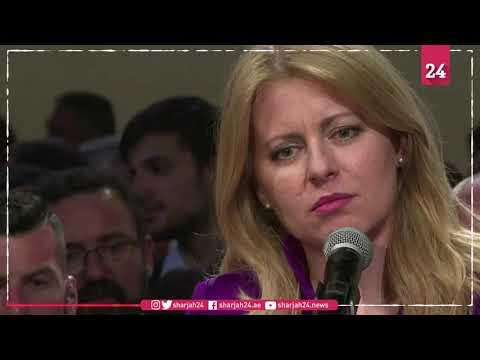 Govt critic Caputova elected Slovakia's first female president