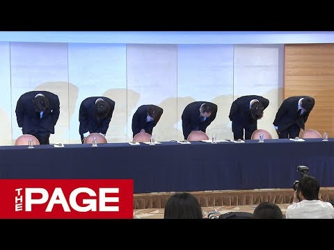 【会見全編】バスケ男子代表が不適切な行動で処分 帰国した4選手が謝罪(2018年8月20日)