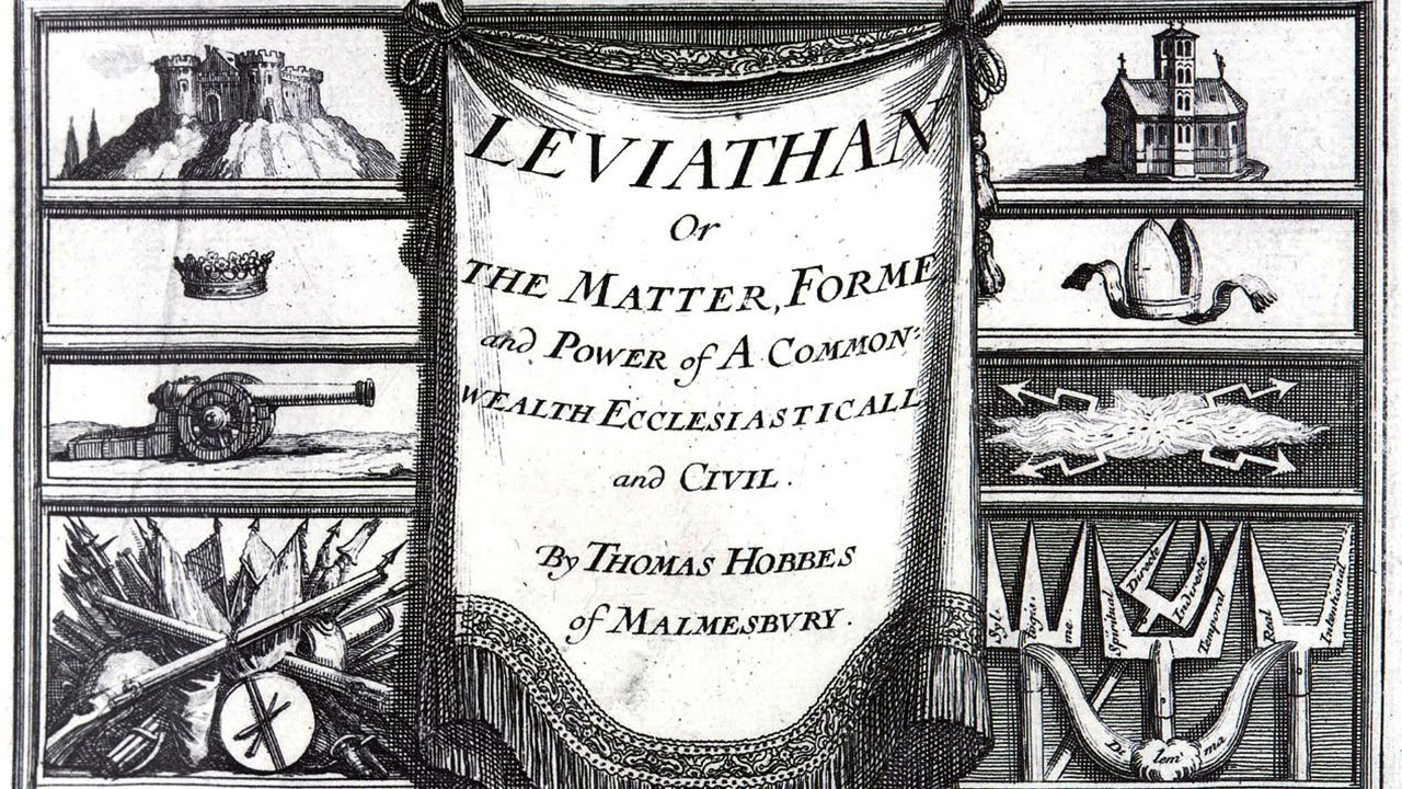 a literary analysis of leviathan by thomas hobbes Buy leviathan (classics of world literature) uk ed by thomas hobbes, tom   starting-points: an analysis of human nature as being motivated by vain-glory.