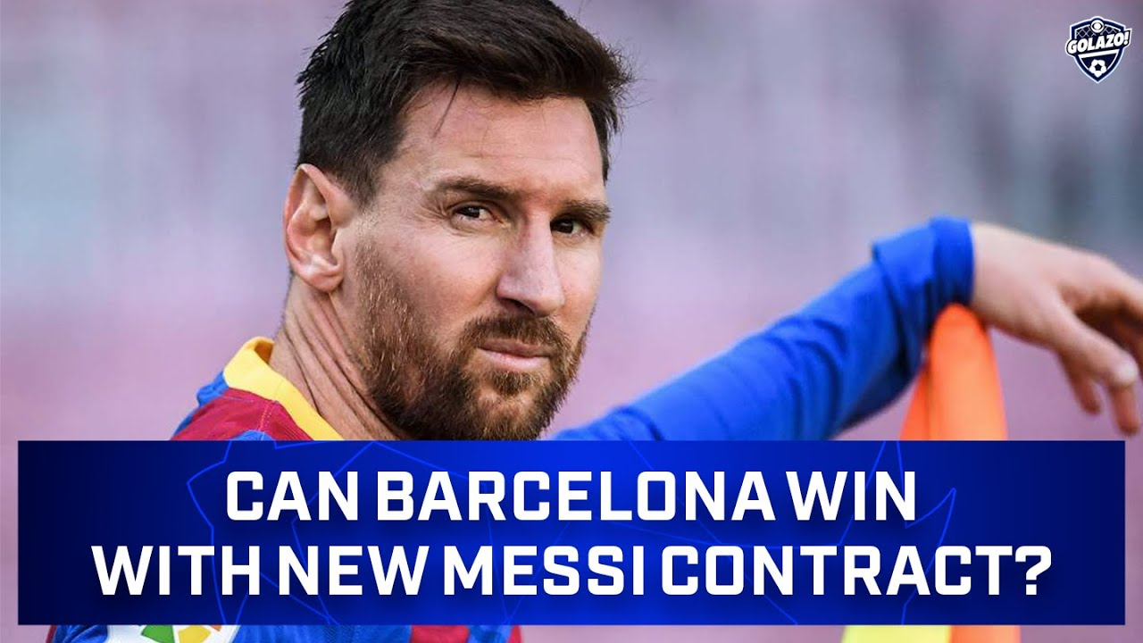 Analysis: Why Messi's New Deal is Good for Him, Bad for Barcelona   Did I Mention?   CBS Golazo