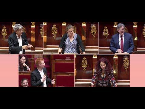 """FINANCES - Les députés insoumis sèment """"L'avenir en commun"""" dans l'hémicycle"""