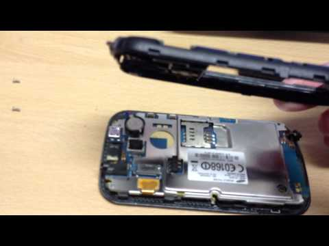 take apart, disassembly Samsung s3350 chat 335 ch@t 355 trackpad track pad fix