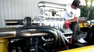 1973 Sanger V-drive Boat 454 chevy with Blower