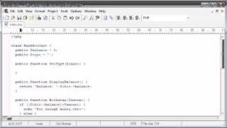 Beginner PHP Tutorial - 198 - extends Part 2