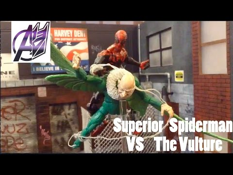 Spiderman [Stop Motion Film]- Superior Spiderman vs Vulture